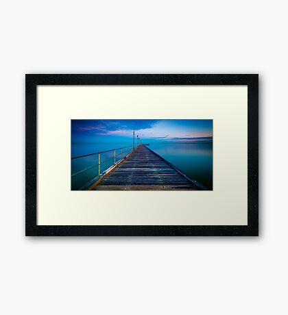 Frankston Pier Framed Print