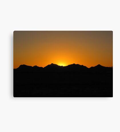 Arizona Sunset ~4 Canvas Print