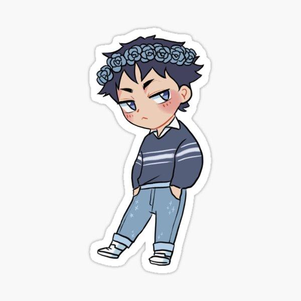 Softboy Akaashi Sticker