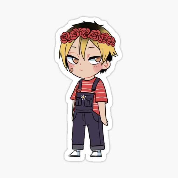 Softboy Kenma Sticker