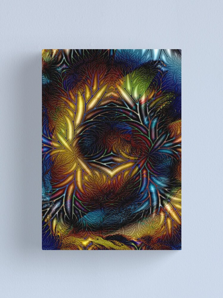 Alternate view of Fractal Branches Canvas Print
