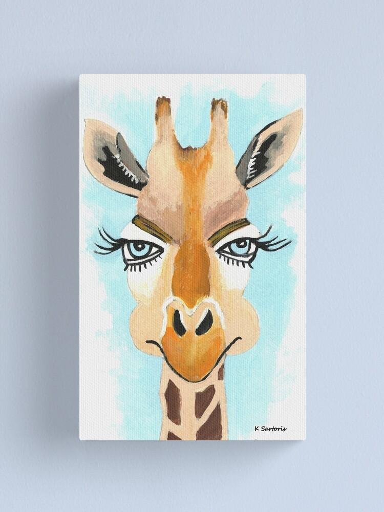 The Flirt Canvas Print By Kathlesa Redbubble