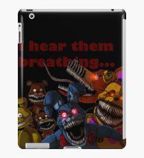 FNAF 4 Nightmare Animatronics iPad Case/Skin
