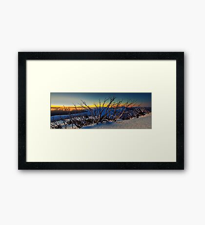1635 Mt Hotham Framed Print