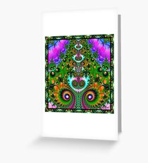 Saturnalia Festivities Greeting Card