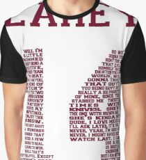 """Isaac """"Quote"""" Jersey V2.0 Graphic T-Shirt"""