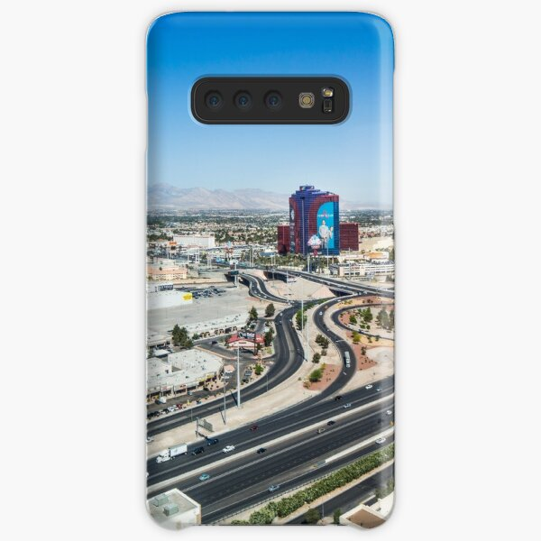 Las Vegas Cityscape as seen from the top of the Stratosphere Tower Samsung Galaxy Snap Case