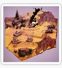 Tank Battle Sticker