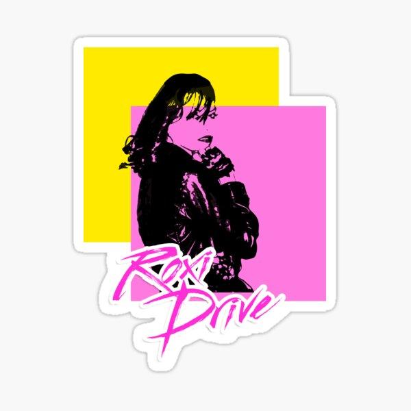 Roxi Drive - Squares Sticker