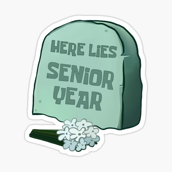 senior year Sticker