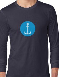 Square anchor Long Sleeve T-Shirt
