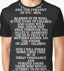 Pulp Fiction - Ezekiel 25:17 Graphic T-Shirt