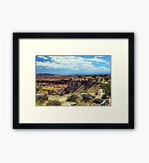 Central Utah Framed Print