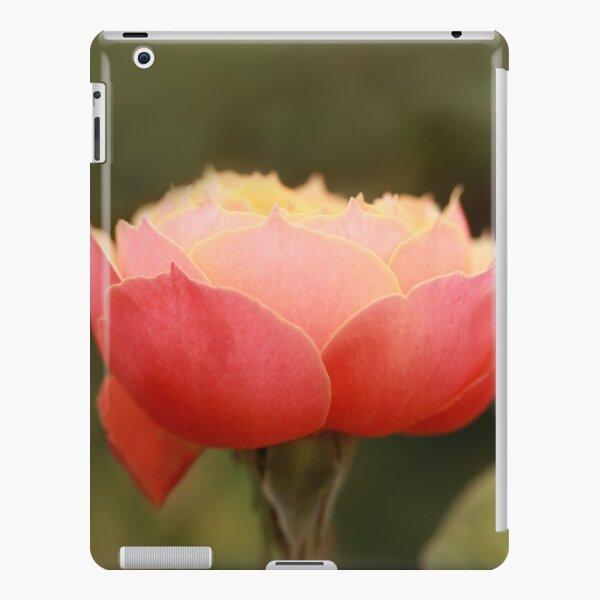 Coral & Pink Rose iPad Snap Case