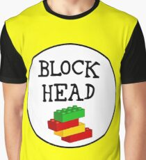 BLOCK HEAD Graphic T-Shirt