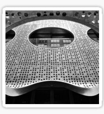 """Perforated Steel"". Circular Façade Study # 2. Sticker"