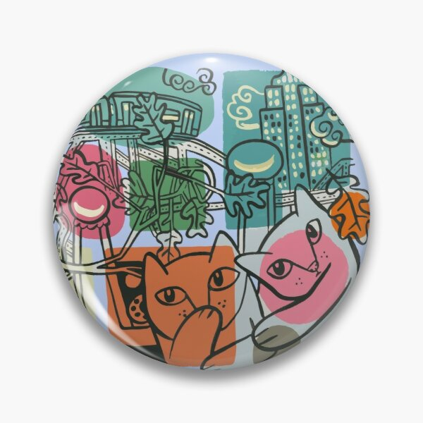 On the Town Pin