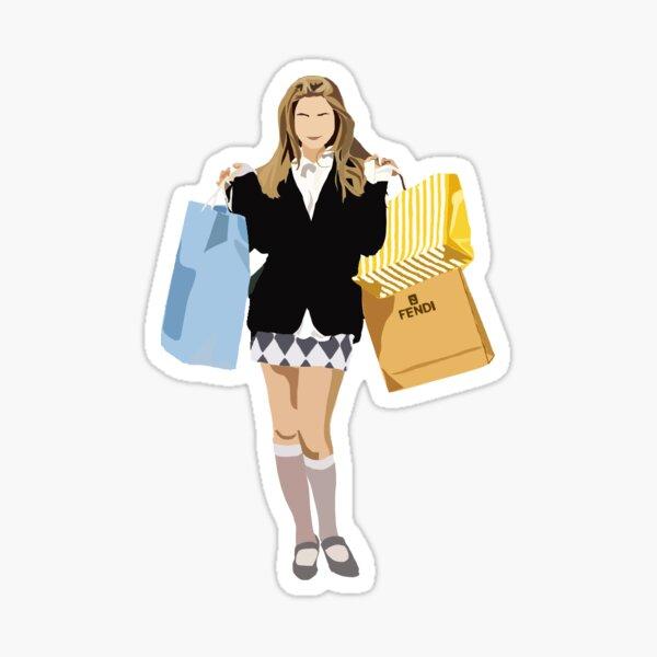 Cher Horowitz Clueless Sticker
