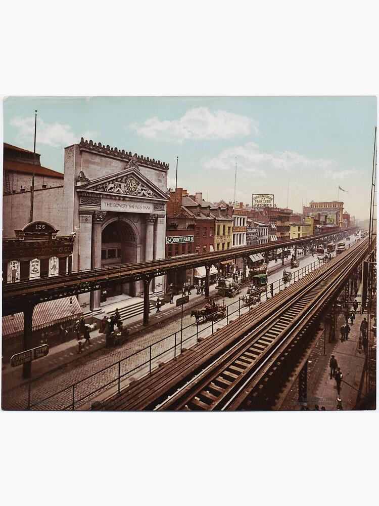 The Bowery New York City Photo-Print (1898) de BravuraMedia