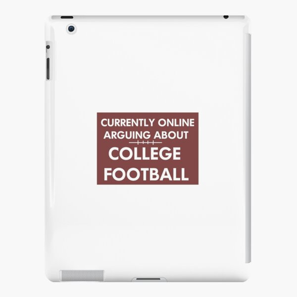 Online Arguing About CFB  iPad Snap Case