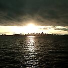 Vancouver skyline from the Quay by Sandrine Pelissier