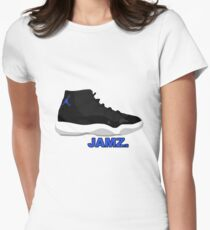 Space Jamz. Women's Fitted T-Shirt