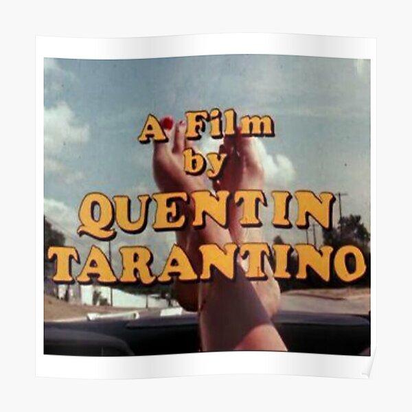 QUENTIN TARANTINO MOVIE DIRECTOR Poster