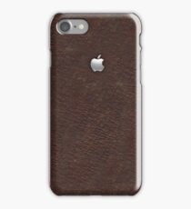 Leather with Metal Apple iPhone Case/Skin