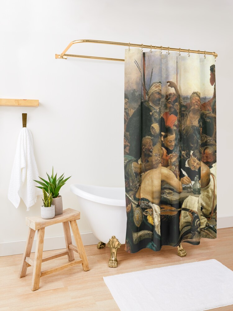 Alternate view of Untitled Shower Curtain