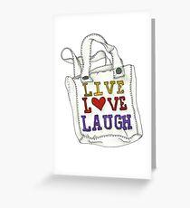 Bag Greeting Card