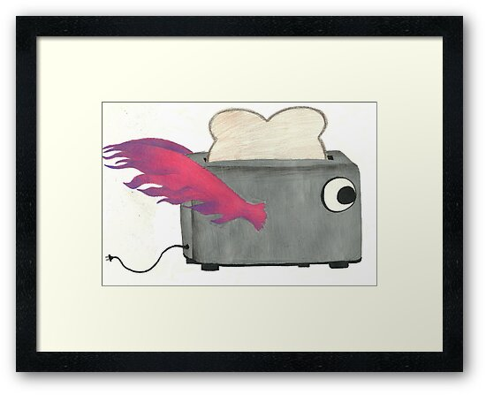 Flying Toaster by Ashley Riemer