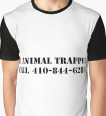 The Wire - If Animal Trapped Graphic T-Shirt