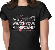 VET TECH Womens Fitted T-Shirt