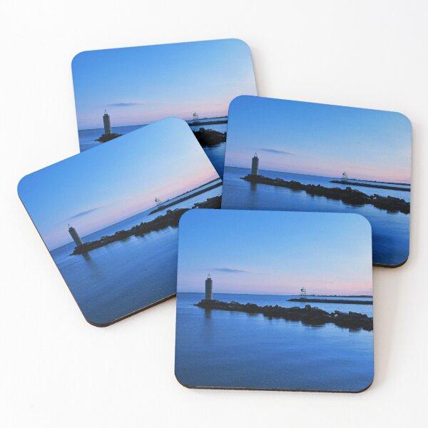 Blue Solitude Coasters (Set of 4)