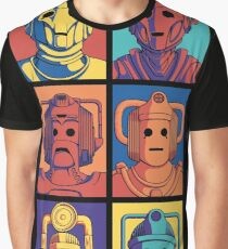 Cyberpop Evolution Graphic T-Shirt