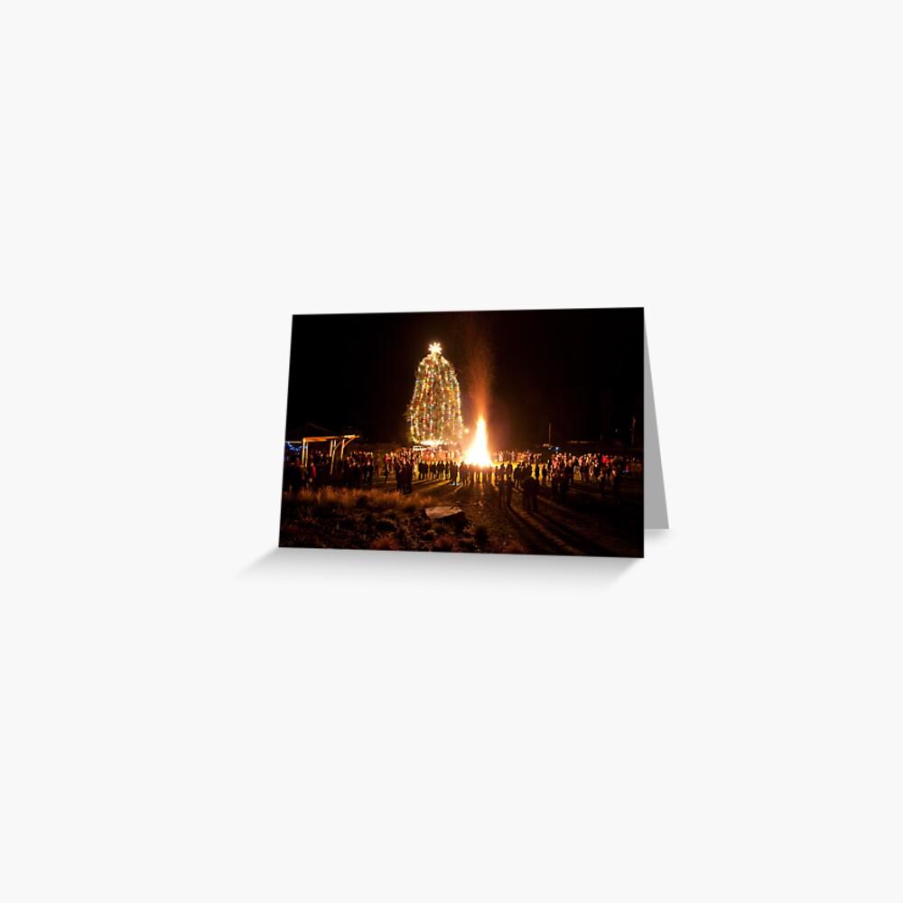 Miners Bay, Dec. 24, Mayne Island Greeting Card