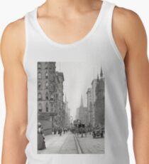 Camisetas de tirantes para hombre Vintage Fifth Avenue Photograph (1912)