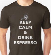Keep Calm & Drink Espresso T-Shirt