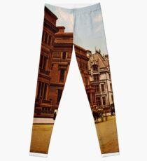 Legging Vintage Fifth Avenue NYC Photo-Print (1900)