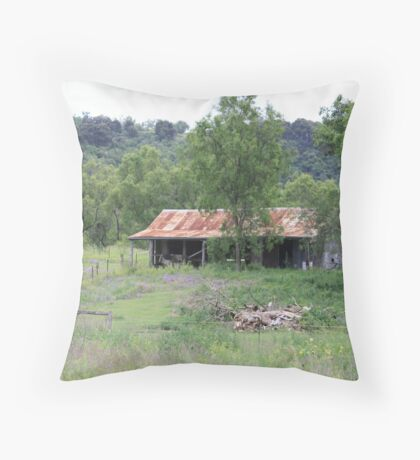 Rural Laidley South of Gatton Throw Pillow
