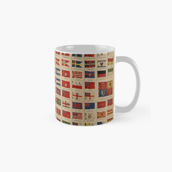 Historical Flags of The World (1869) Classic Mug