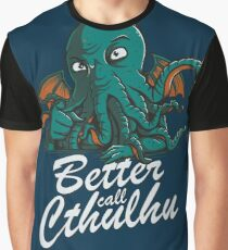 Better Call Cthulhu Graphic T-Shirt