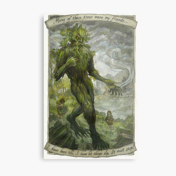 The Loss of Trees Metal Print
