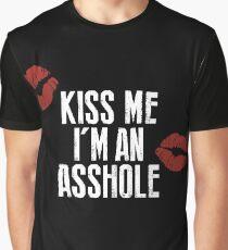 True Detective - Kiss Me, I'm an Asshole Graphic T-Shirt