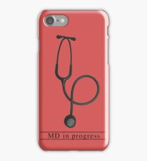 MD in progress iPhone Case/Skin
