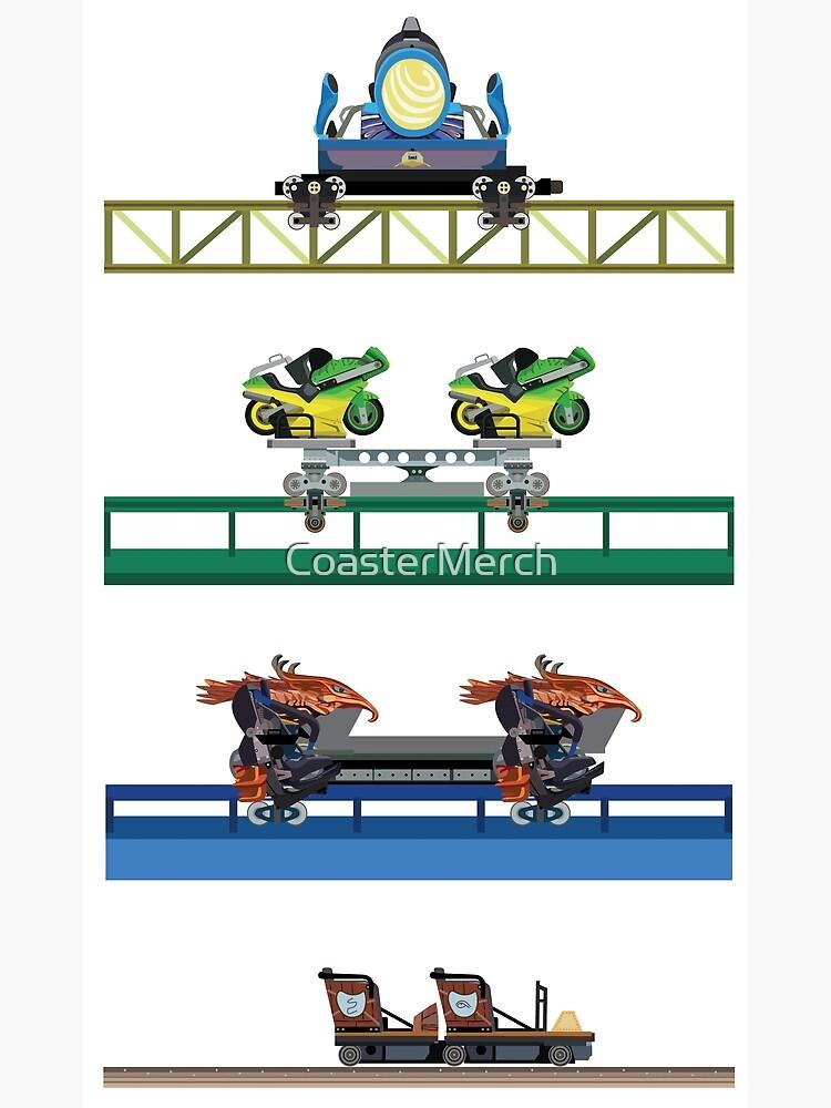 Toverland Coaster Cars Design by CoasterMerch
