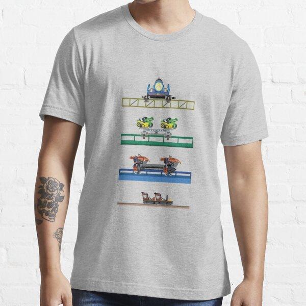 Toverland Coaster Cars Design Essential T-Shirt