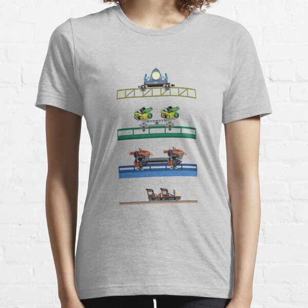 Toverland Coaster Cars Design Essential T-Shirt