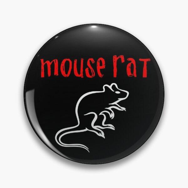 Mouse Rat Logo - Parks and Rec Pin