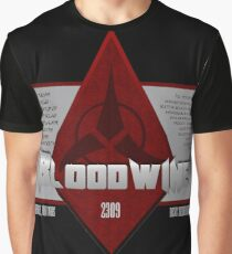 Bottle of Bloodwine Graphic T-Shirt